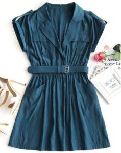 Zaful Peacock Dress