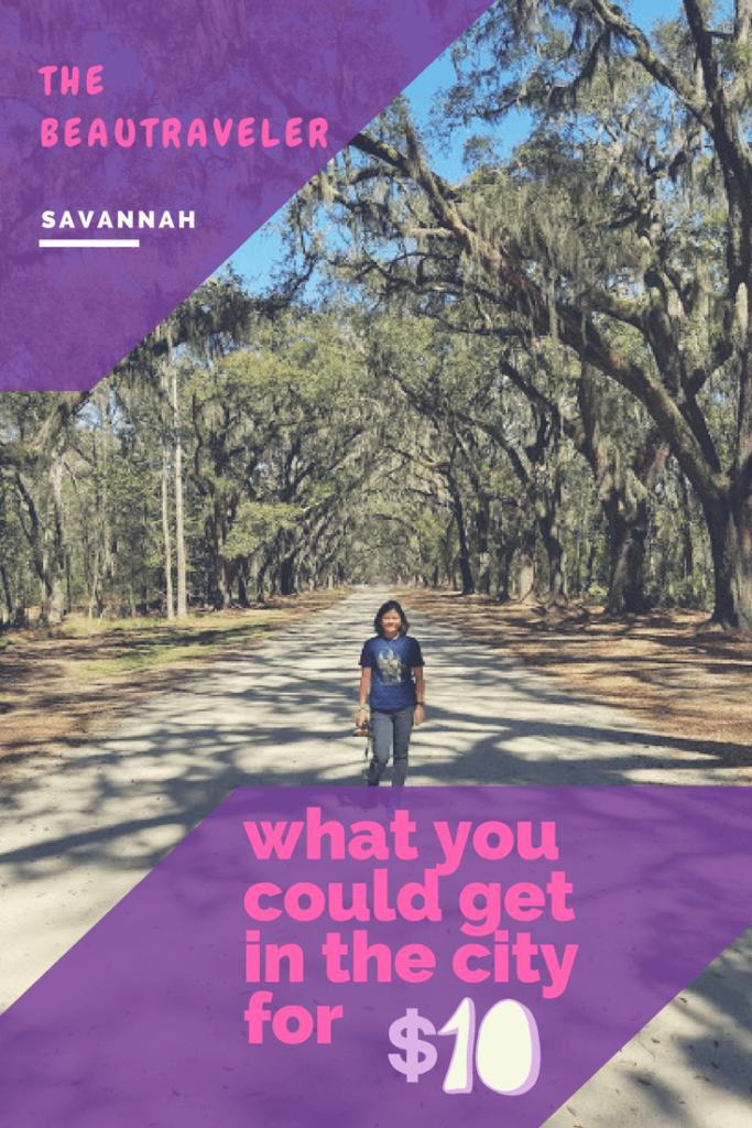 What You Could Get in Savannah for $10 - The BeauTraveler