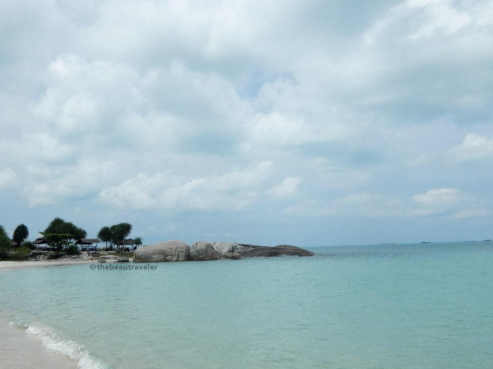 Rambak Beach, Bangka Island.