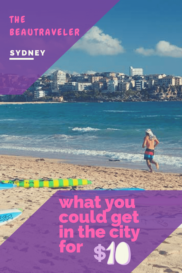 What You Could Get in Sydney for $10 - The BeauTraveler