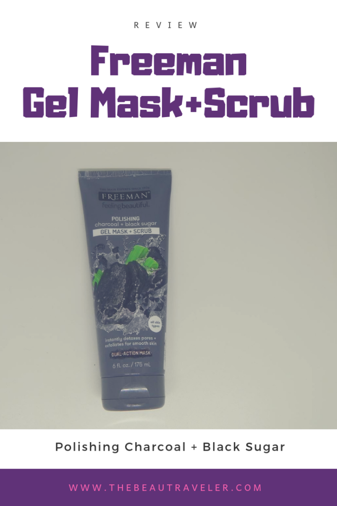 Review: Freeman Polishing Charcoal and Black Sugar (Gel Mask+Scrub)