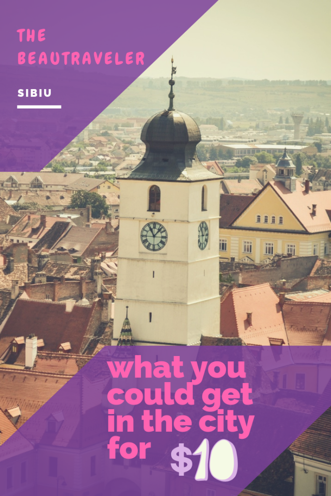 What You Could Get in Sibiu for $10 - The BeauTraveler