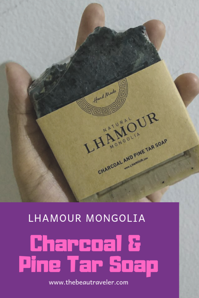 Review: Lhamour Mongolia Charcoal and Pine Tar Soap - The BeauTraveler