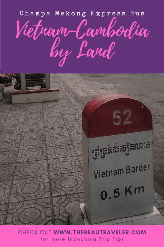Vietnam-Cambodia by Land: Ha Tien to Kampot with Champa Mekong Express Bus - The BeauTraveler