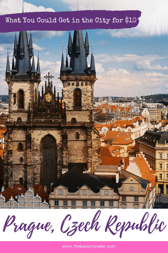 What You Could Get in Prague for $10 - The BeauTraveler