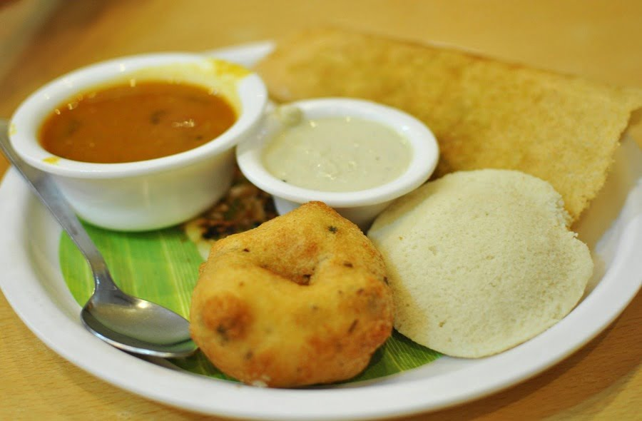 A healthy South Indian breakfast in Hy