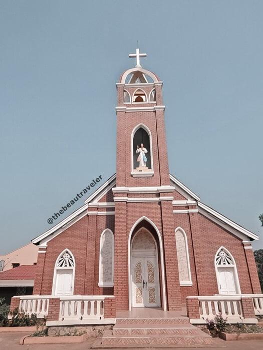 Sacred Heart Church in Pakse, Champasak.