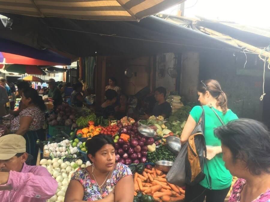 San Pedro Market.