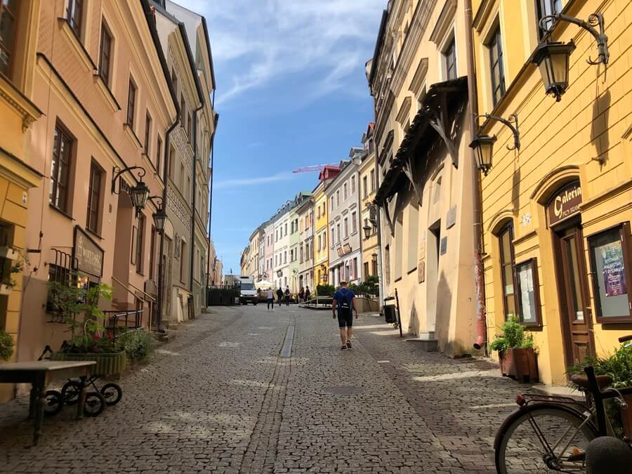 Lublin Old Town in Poland.