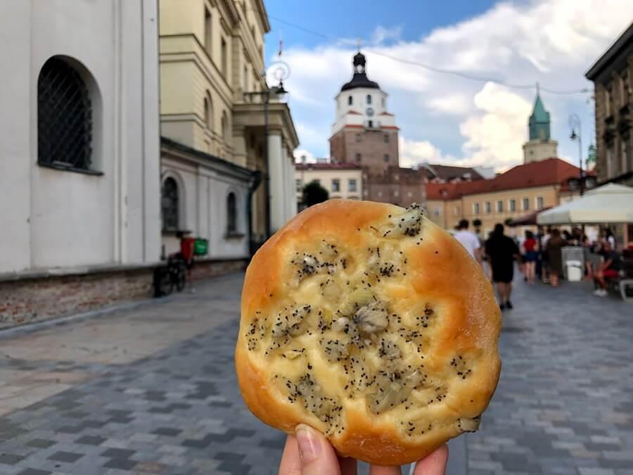 Cebularz in Lublin.