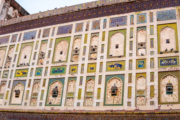 Lahore fort.