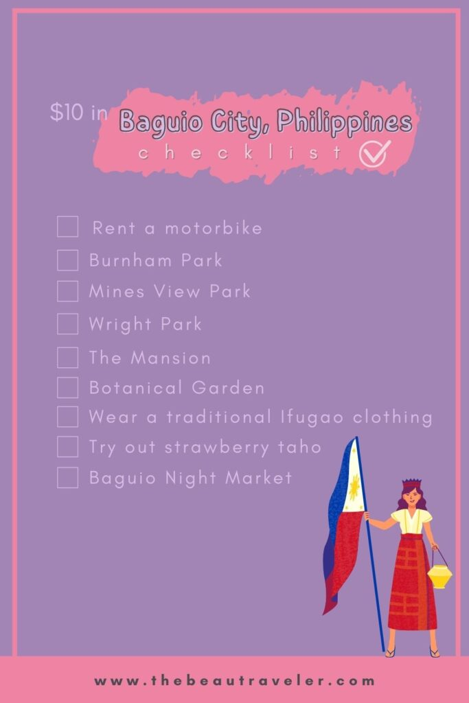 What You Could Get in Baguio City for $10 - The BeauTraveler